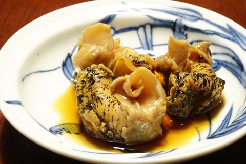 つぶ貝の煮物