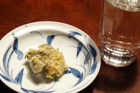 トコブシの味噌漬