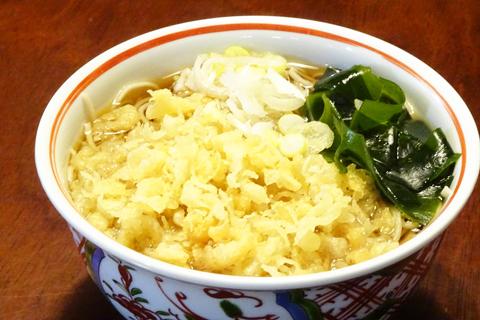たぬき蕎麦