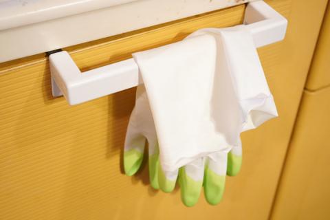 炊事手袋と